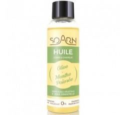 SOARN - Huile d'Olive et Menthe Poivrée Corps et Cheveux SOARN ebcosmetique