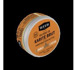 WAAM - Beurre de Karité Brut Bio WAAM ebcosmetique
