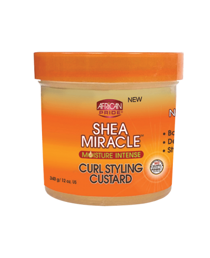 African Pride Shea Butter Miracle- Curl Styling Custard