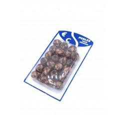 E ACCESSOIRES - Grosse Perles En Bois Marron E Accessoires ACCESSOIRES DE COIFFURE