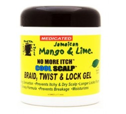 Jamaican Mango & Lime- Cool Scalp Braid, Twist & Lock Gel JAMAICAN MANGO & LIME SOIN LOCKS