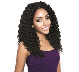 MANE CONCEPT - Mèches Crochet Braids Fausses Locks ( CURLED FAUX LOCS ) MANE CONCEPT HAIR CROCHET BRAID LOCKS