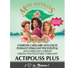 Miss Antilles- ActiPouss Plus x4 Ampoules MISS ANTILLES ebcosmetique