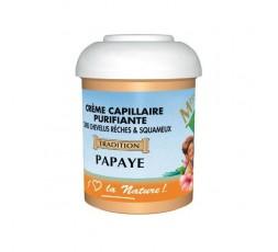 Miss Antilles- Crème Capillaire Purifiante à la Papaye MISS ANTILLES CRÈME COIFFANTE