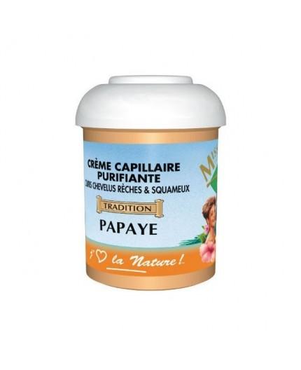 Miss Antilles- Crème Capillaire Purifiante à la Papaye