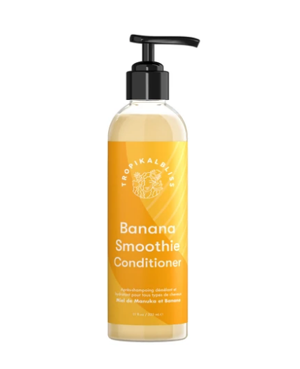 TROPIKALBLISS - Après Shampoing Démêlant Miel et Banane Smoothie 300ml