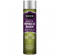 WAAM - Huile de Pépins de Raisin 100% Pure WAAM BAIN D'HUILE