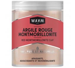 WAAM - Argile Rouge Montmorillonite 100% Pure & Naturelle WAAM MASQUE