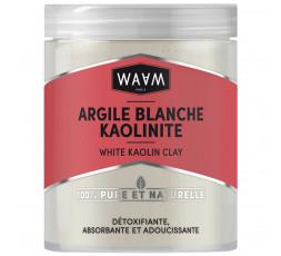 WAAM - Argile Blanche Kaolinite Pure & Naturelle WAAM MASQUE