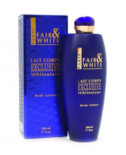 FAIR AND WHITE - EXCLUSIVE - Lait FAIR AND WHITE CRÈME ÉCLAIRCISSANTE CORPS