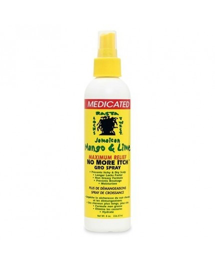 Jamaican Mango & Lime- No More Itch Spray Medicated