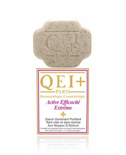 QEI+ Efficacité Extrême- Savon Éclaircissant Gommant