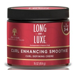 AS I AM Long & Luxe- Curl enhancing Smoothie (Crème Définissante) AS I AM  ACTIVATEUR & DEFINISEUR DE BOUCLES