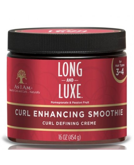 AS I AM  Long & Luxe- Curl enhancing Smoothie (Crème Définissante)