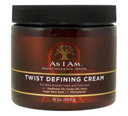 AS I AM - Twist Defining Cream (Crème Coiffante) AS I AM  ebcosmetique