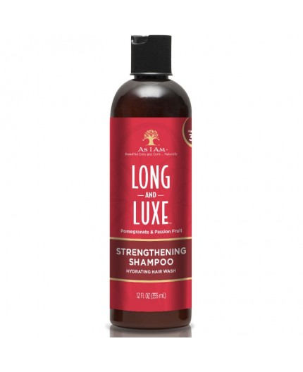 AS I AM Long & Luxe - strengthening Shampoo (Shampoing fortifiant) AS I AM  SHAMPOING