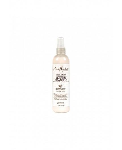 SHEA MOISTURE - COCONUT OIL -  Spray Sans Rinçage à l'Huile de Coco (Leave-In Treatment) - 384ml