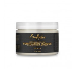 SHEA MOISTURE - AFRICAN BLACK SOAP - Masque Capillaire Purifiant (Purification Masque) - 340g