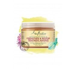 SHEA MOISTURE - JAMAICAN BLACK CASTOR OIL - Masque Soin Réparateur (Strengthen & Restore Treatment Masque) - 354ml SHEA MOIST...