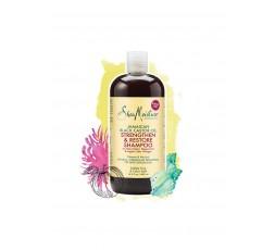 SHEA MOISTURE - JAMAICAN BLACK CASTOR OIL - Shampoing Réparateur & Pousse (Strenghten & Restore Shampoo) - 384ml SHEA MOISTUR...