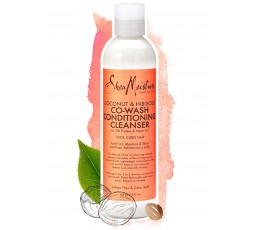 SHEA MOISTURE - COCONUT & HIBISCUS - Co-Wash Boucles & Brillance (Co-Wash Conditioning Cleanser) - 237ml SHEA MOISTURE Accueil