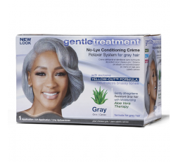 GENTLE TREATMENT- Defrisage Pour Cheveux Gris Gray (Cheveux Gris) GENTLETREATMENT ebcosmetique