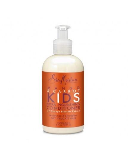 SHEA MOISTURE KIDS - MANGO & CARROT - Après-Shampoing Nourrissant (Extra-Nourishing Conditioner) - 237ml