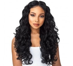 "Sensationnel- 6"" Part Body Wave (Custom Lace Boutique Bundle) SENSATIONNEL  PERRUQUE SEMI-NATURELLE"
