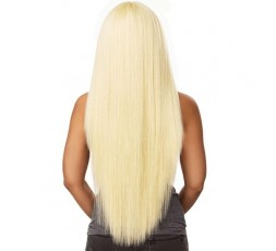 "Sensationnel- Perruque 6"" Part Straight (Custom Lace Boutiques Bundles) SENSATIONNEL  PERRUQUE SEMI-NATURELLE"