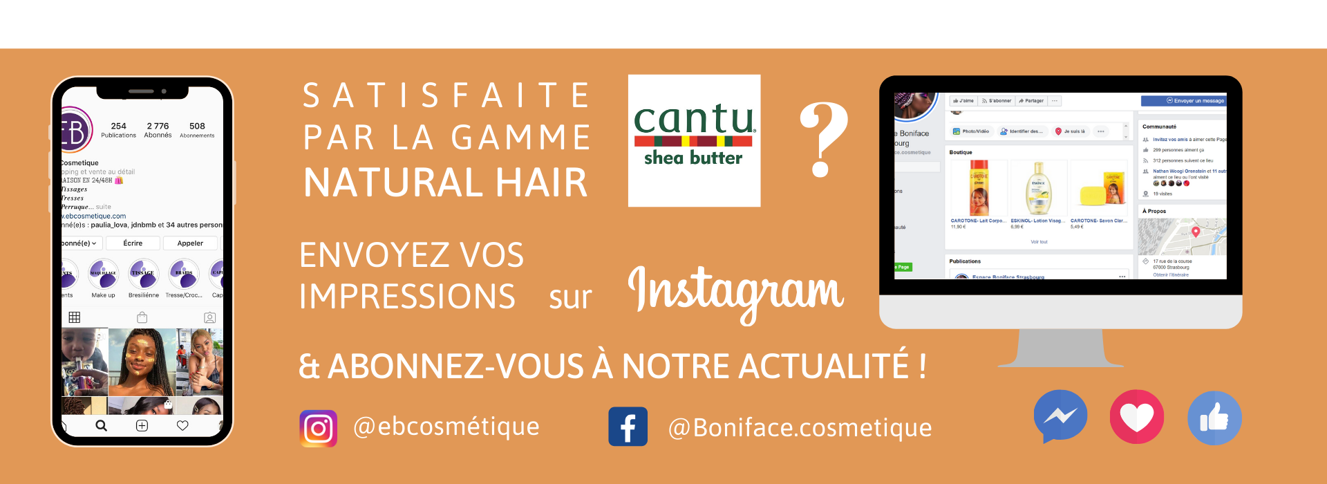 fiche produit ebcosmetique cantu shea butter natural hair Wave Whip Curling Mousse routine capillaire afro bouclé facebook instagram