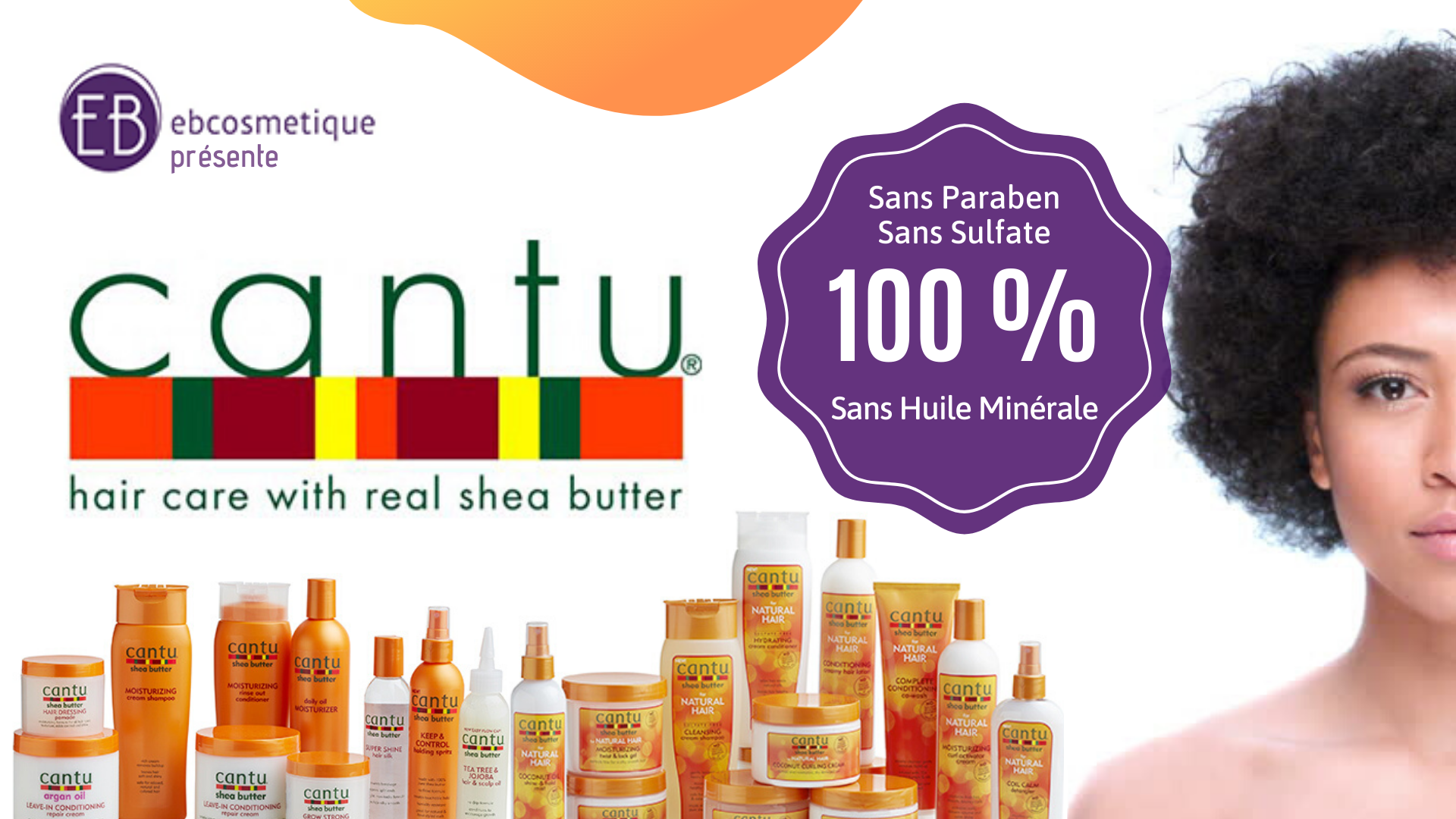 fiche produit ebcosmetique cantu shea butter natural hair daily hair moisturizer